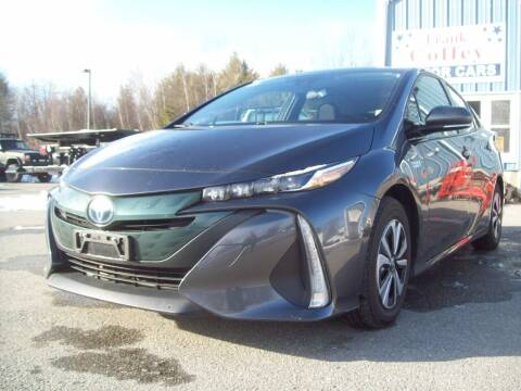 2017 Toyota Prius Prime for sale at Frank Coffey in Milford NH