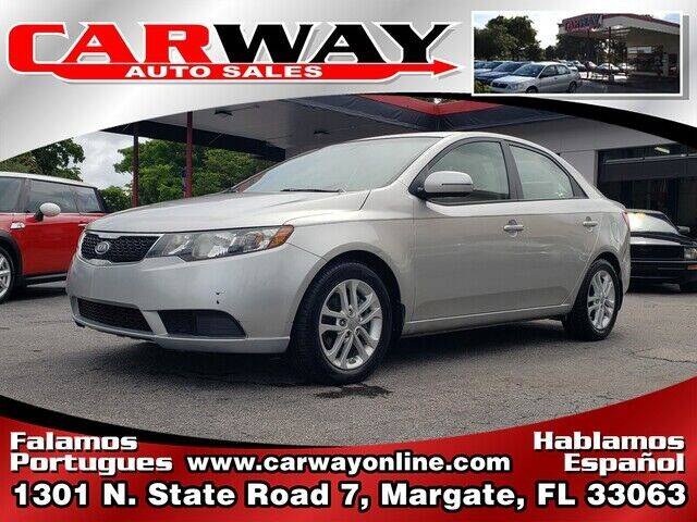 2011 Kia Forte for sale at CARWAY Auto Sales in Margate FL