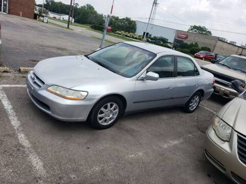 2000 Honda Accord for sale at Sportscar Group INC in Moraine OH
