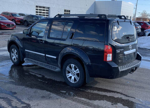 2012 Nissan Pathfinder for sale at Grims Auto Sales in North Lawrence OH