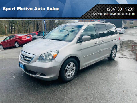 2006 Honda Odyssey for sale at Sport Motive Auto Sales in Seattle WA
