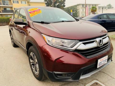2018 Honda CR-V for sale at San Mateo Auto Sales in San Mateo CA