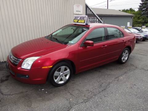 2007 Ford Fusion for sale at Fulmer Auto Cycle Sales - Fulmer Auto Sales in Easton PA