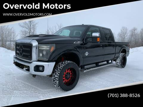 2011 Ford F-350 Super Duty for sale at Overvold Motors in Detriot Lakes MN