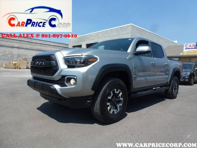 2017 Toyota Tacoma for sale at CarPrice Corp in Murray UT