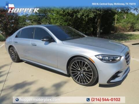 2021 Mercedes-Benz S-Class for sale at HOPPER MOTORPLEX in Mckinney TX