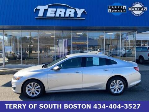 2019 Chevrolet Malibu for sale at Terry of South Boston in South Boston VA
