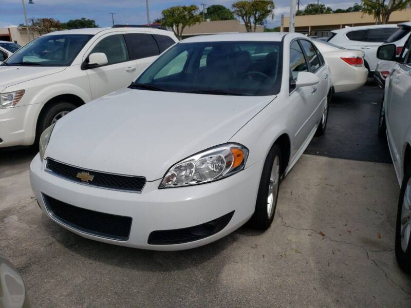 2016 Chevrolet Impala Limited for sale at KK Car Co Inc in Lake Worth FL