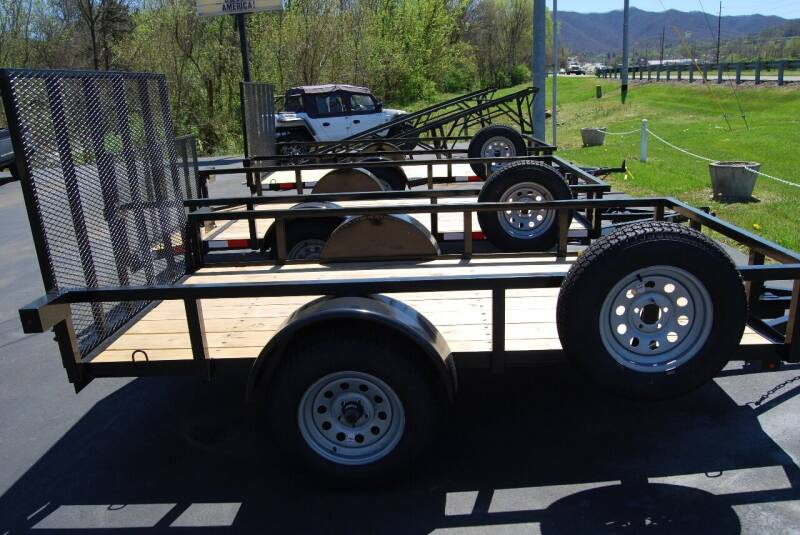 2019 DOWN TO EARTH TRAILERS UTILITY TRAILERS for sale at DOE RIVER AUTO SALES in Elizabethton TN