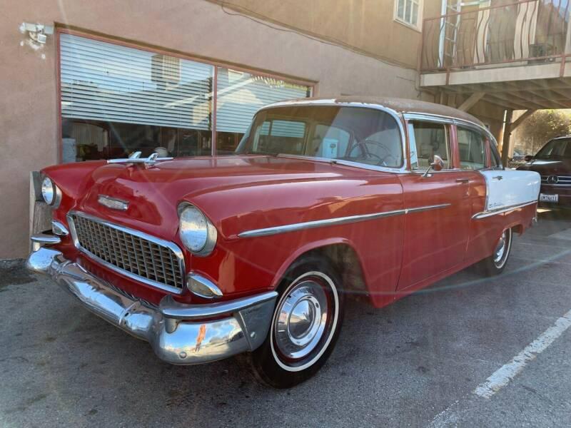 1955 Chevrolet Bel Air for sale at Dodi Auto Sales in Monterey CA