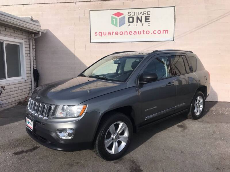 2012 Jeep Compass for sale at SQUARE ONE AUTO LLC in Murray UT