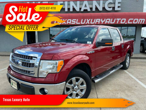 2013 Ford F-150 for sale at Texas Luxury Auto in Cedar Hill TX