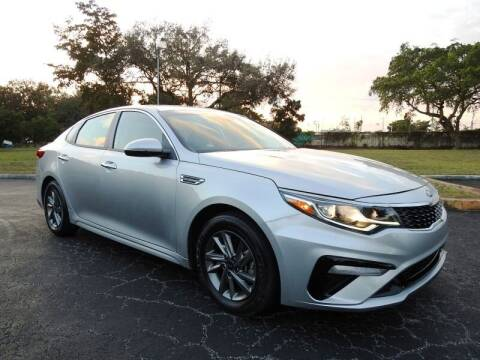 2019 Kia Optima for sale at SUPER DEAL MOTORS in Hollywood FL