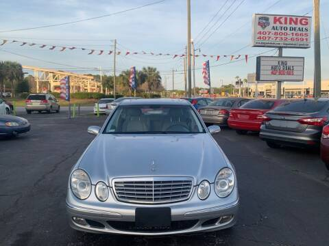 2005 Mercedes-Benz E-Class for sale at King Auto Deals in Longwood FL