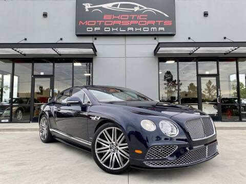 2017 Bentley Continental for sale at Exotic Motorsports of Oklahoma in Edmond OK