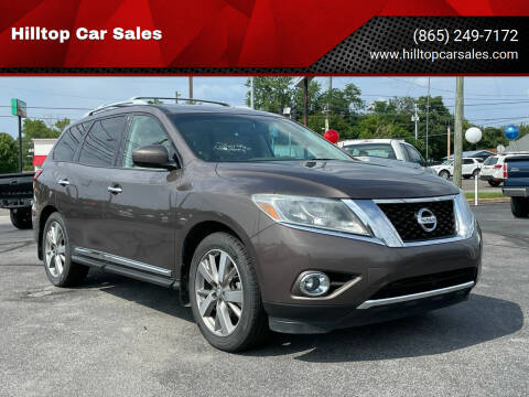 2015 Nissan Pathfinder for sale at Hilltop Car Sales in Knoxville TN