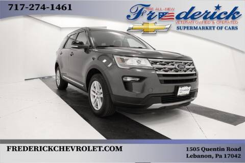 2018 Ford Explorer for sale at Lancaster Pre-Owned in Lancaster PA