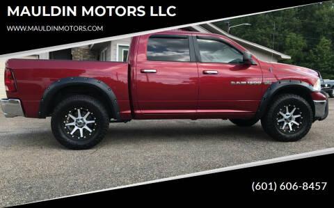 2012 RAM Ram Pickup 1500 for sale at MAULDIN MOTORS LLC in Sumrall MS