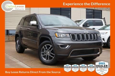 2018 Jeep Grand Cherokee for sale at Dallas Auto Finance in Dallas TX