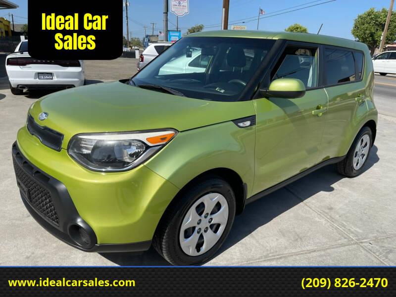 2014 Kia Soul for sale at Ideal Car Sales in Los Banos CA