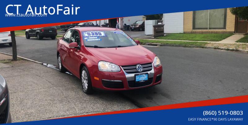 2010 Volkswagen Jetta for sale at CT AutoFair in West Hartford CT