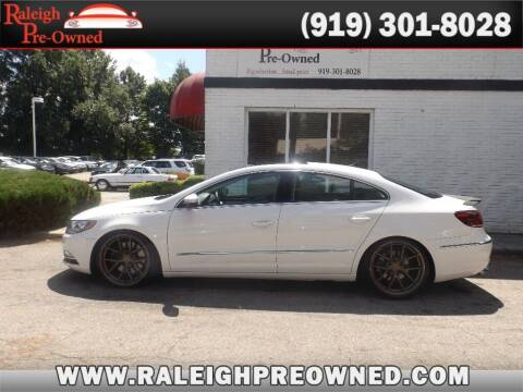 2014 Volkswagen CC for sale at Raleigh Pre-Owned in Raleigh NC