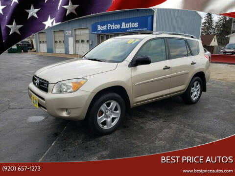 2007 Toyota RAV4 for sale at Best Price Autos in Two Rivers WI