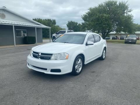 2012 Dodge Avenger for sale at Jacks Auto Sales in Mountain Home AR
