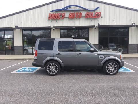 2011 Land Rover LR4 for sale at DOUG'S AUTO SALES INC in Pleasant View TN