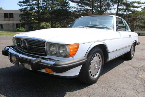 1987 Mercedes-Benz 560-Class for sale at Great Lakes Classic Cars & Detail Shop in Hilton NY