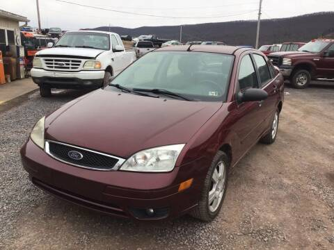 2007 Ford Focus for sale at Troys Auto Sales in Dornsife PA