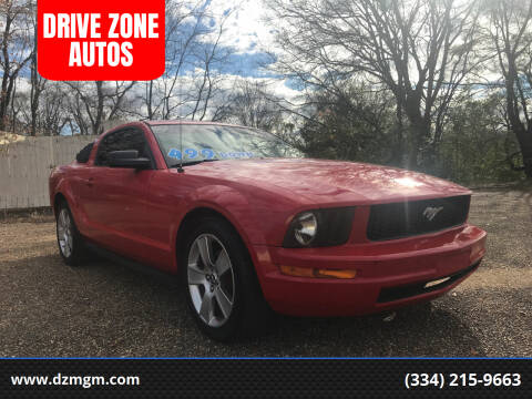 2005 Ford Mustang for sale at DRIVE ZONE AUTOS in Montgomery AL