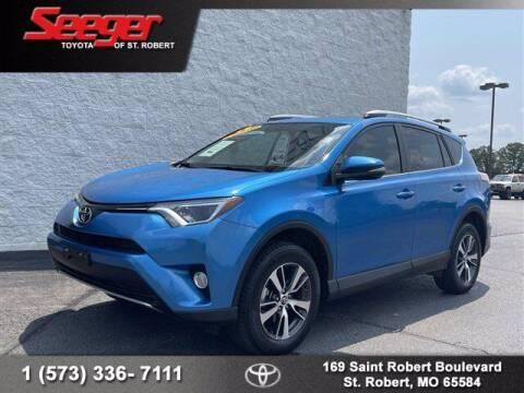 2016 Toyota RAV4 for sale at SEEGER TOYOTA OF ST ROBERT in Saint Robert MO