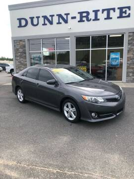 2012 Toyota Camry for sale at Dunn-Rite Auto Group in Kilmarnock VA