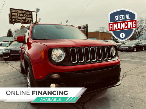 2018 Jeep Renegade for sale at 3 Brothers Auto Sales Inc in Detroit MI