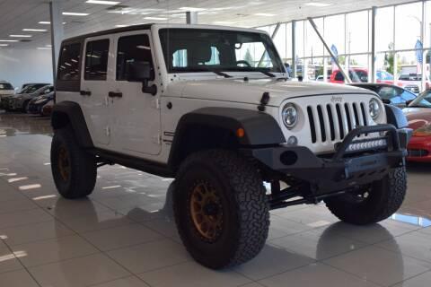 2017 Jeep Wrangler Unlimited for sale at Legend Auto in Sacramento CA