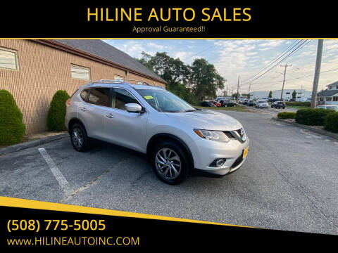 2015 Nissan Rogue for sale at HILINE AUTO SALES in Hyannis MA