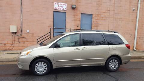 2005 Toyota Sienna for sale at Economy Auto Sales in Dumfries VA