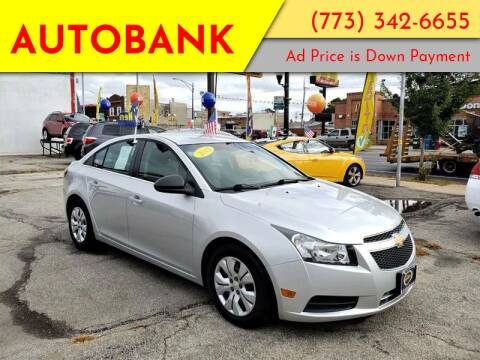 2012 Chevrolet Cruze for sale at AutoBank in Chicago IL