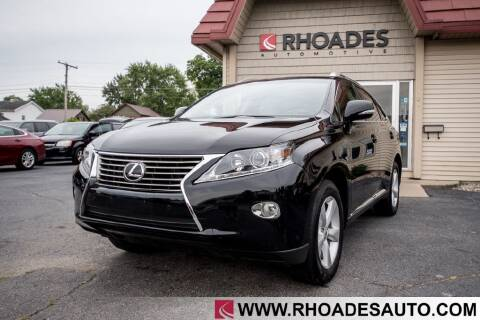 2013 Lexus RX 350 for sale at Rhoades Automotive in Columbia City IN
