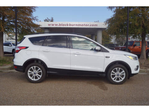 2018 Ford Escape for sale at BLACKBURN MOTOR CO in Vicksburg MS