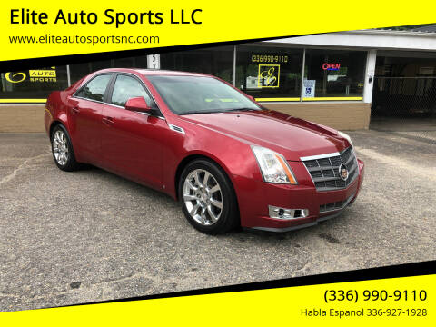 2008 Cadillac CTS for sale at Elite Auto Sports LLC in Wilkesboro NC