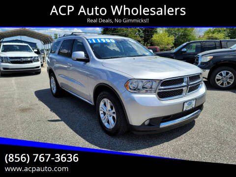 2012 Dodge Durango for sale at ACP Auto Wholesalers in Berlin NJ