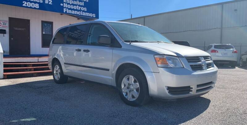 2008 Dodge Grand Caravan for sale at P & A AUTO SALES in Houston TX