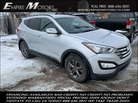 2013 Hyundai Santa Fe Sport for sale at Empire Motors LTD in Cleveland OH