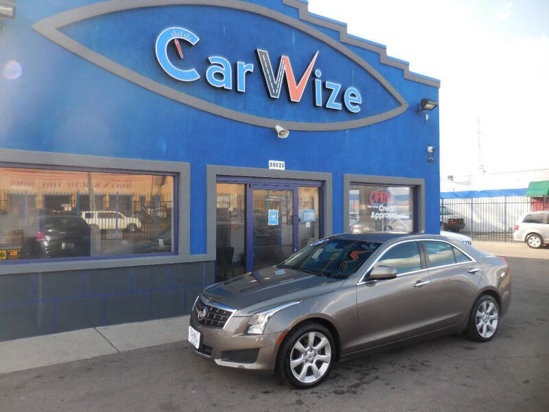 2014 Cadillac ATS for sale at Carwize in Detroit MI
