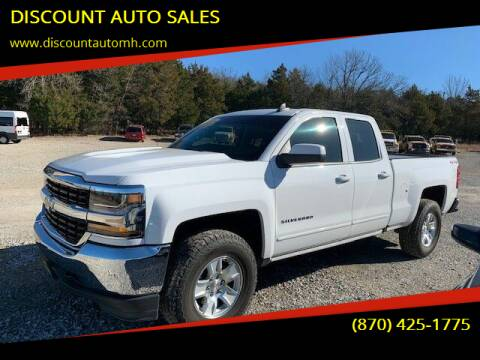 2018 Chevrolet Silverado 1500 for sale at DISCOUNT AUTO SALES in Mountain Home AR