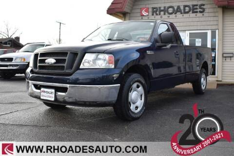2007 Ford F-150 for sale at Rhoades Automotive in Columbia City IN