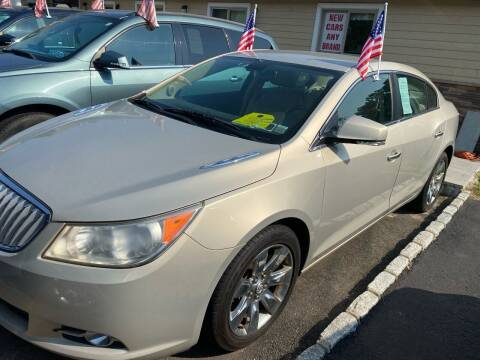 2011 Buick LaCrosse for sale at Primary Motors Inc in Commack NY