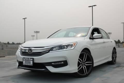 2017 Honda Accord for sale at BAY AREA CAR SALES 2 in San Jose CA